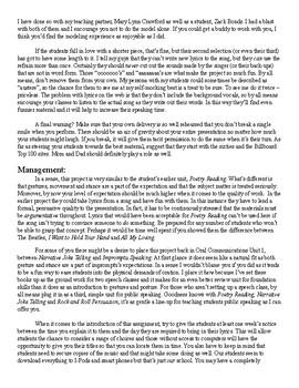 Rock and Roll Persuasion (Mr. Harper Makes Us Speak & Read Totally Good... er)