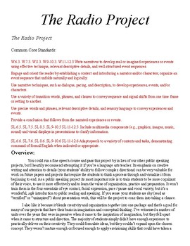 The Radio Project (from Mr. Harper's Public Speaking and Reading Thingee)