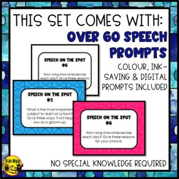 Public Speaking Prompts