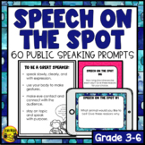 Public Speaking Prompts-Speech on the Spot