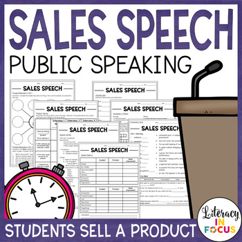 Public Speaking: Sales Speech - Students sell a product to the class!