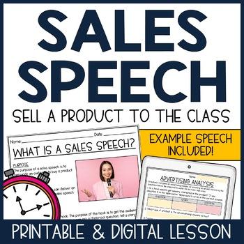 Public Speaking: Sales Speech