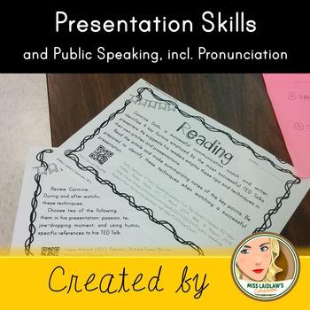 Public Speaking Skills and Pronunciation Skills for native