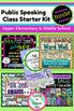 Public Speaking Starter-Kit BUNDLE