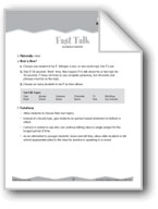 Public Speaking (Ten-Minute Activities)