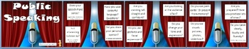 Literacy - Public Speaking Tips - Poster Set