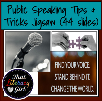 Presentation Tips/Tricks Jigsaw Activity