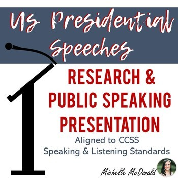 Public Speaking: US Presidential Speeches & Research Assignment