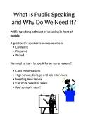 Public Speaking Unit