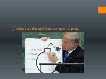 Public Speaking - Using Props PPT
