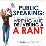 Public Speaking: Writing and Delivering a Rant
