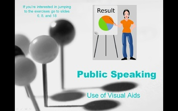 Public Speaking and the Use of Visual Aids