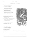 Public Speaking:Jabberwocky Recitation Grade Sheet and a Preview sheet