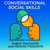 Conversational Social Skills: Social Story, Activities, Anchor chart & More