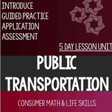 Public Transportation Bundle- High School Special Education