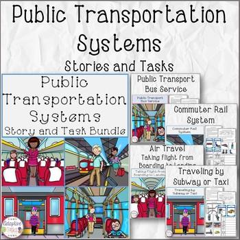 Public Transportation Systems Stories and Tasks Bundle