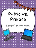 Public vs. Private Information {what to share online}