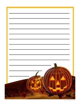 Publish Your Halloween Paragraph