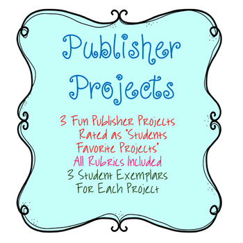 Publisher Projects