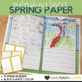 Publishing Lined Paper : Spring Edition