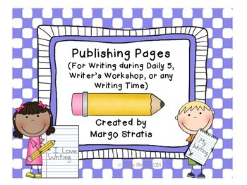 Publishing Pages: For Writing Time