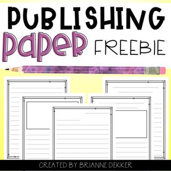 Publishing Paper FREEBIE