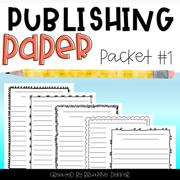 Publishing Paper Packet