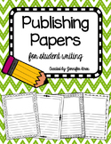 Publishing Papers PACK