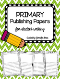 Publishing Papers PACK {Primary}