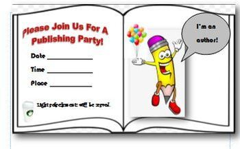 Publishing Party Ideas and Templates
