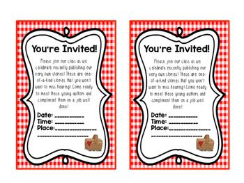 Publishing Party Invitations