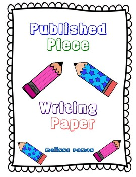 Publishing Piece Paper