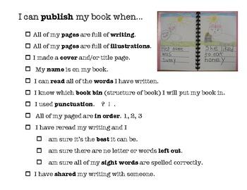 Publishing Poster for Writer's Workshop