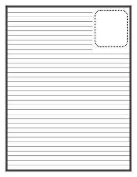 Publishing Writing Paper 8 Different Templates