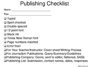 Publishing Your Work: A How-To Guide