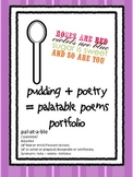 Pudding + Poetry = FUN FREEBIE for National Poetry Month!