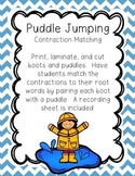 Puddle Jumping, A Contraction Matching Game