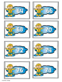 Counting - Spring - Games - Printables - Math Center - Numbers