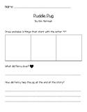 Puddle Pug Literacy Activity/Listening Station FREEBIE!