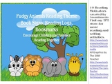 Pudgy Animals Reading Theme (Bookmarks, Reading Logs, and More)
