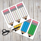 Pudgy Pencils Bookmarks