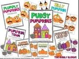 Pudgy Pumpkins~ 6 Literacy Centers