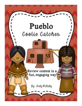 Pueblo Cootie Catcher (Fortune Teller)