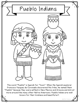 Native Americans – Favoreads Coloring Club | 350x271