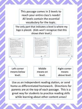 Pueblo Indians fluency and comprehension leveled passages
