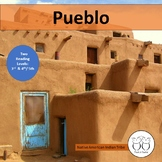 Pueblo Native American Indians 2 Reading Levels 3rd & 4th/5th