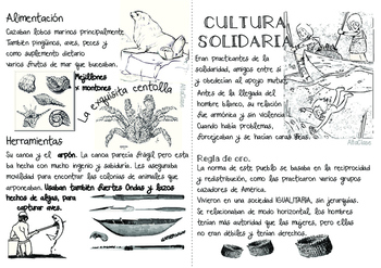 Pueblos Originarios del Sur, Part 2 - Natives from the south - Spanish