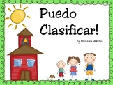 Puedo Clasificar! Spanish Sorting Posters