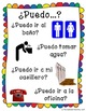 Puedo...? Classroom Request Posters