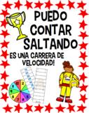 Puedo Contar Saltando (Skip Counting Races) A Bilingual Math Fluency Game
